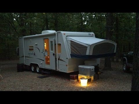 Getting the Hybrid Camper ready for camping - YouTube