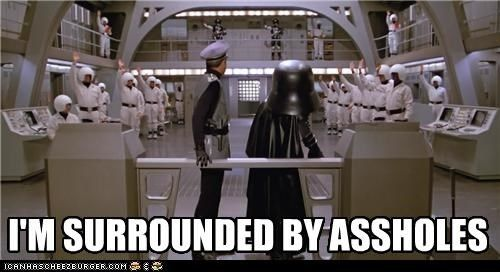This realization from Spaceballs. | 29 Of The Most Ingenious Moments From Mel Brooks Movies