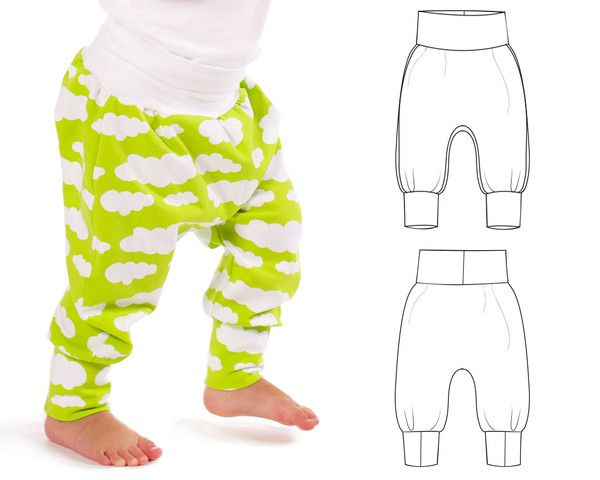 cuff waist harem pants : 048 - Brindille & Twig