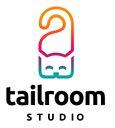 "Собственный логотип ""Tailroom Studio"" Дизайнер - Ольга Шу. #логотип #хенгер #дорхенгер #кошка #хвост #комната #henger #tail #doorhenger #room #cat #studio #logo #лого #дизайн #design #logodesign #logotype #tailroom #inspiration"
