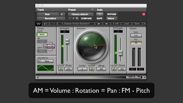 Using Waves MondoMod In On Synths, EDM And Dubstep