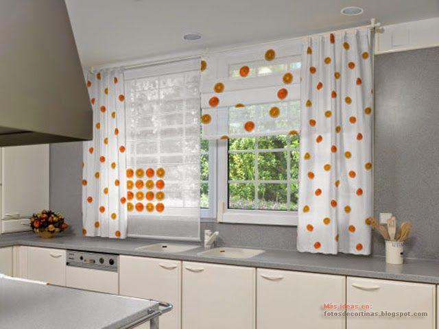 The 25 best cortinas para la cocina ideas on pinterest - Estores para cocina ...