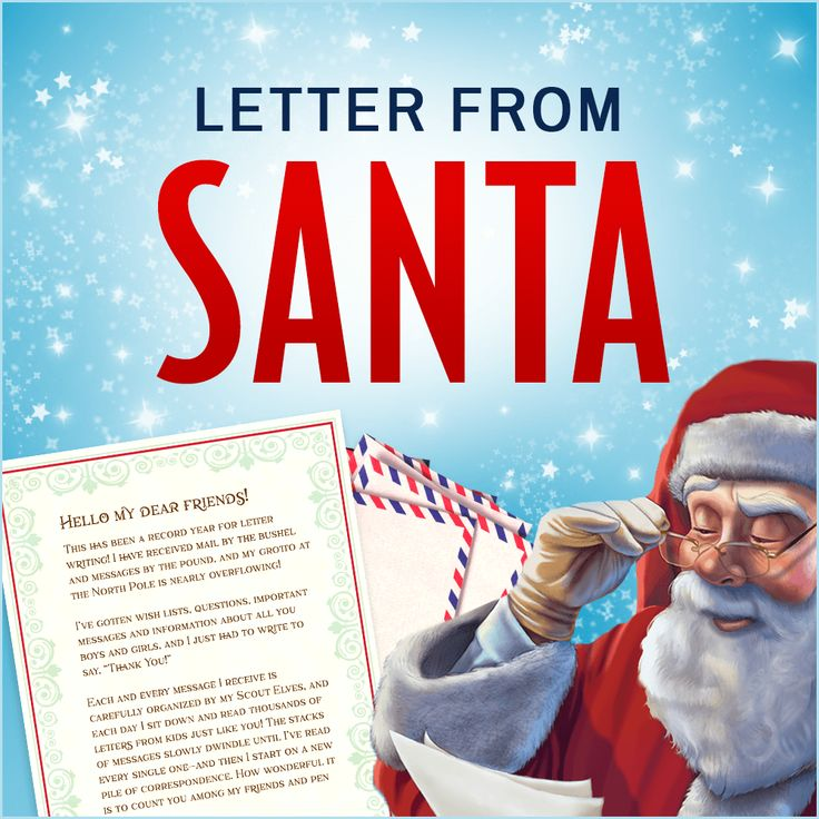 Letter from Santa Claus | Christmas 2017 | Letters to Santa | Free Letters from Santa | Elf on the Shelf Ideas