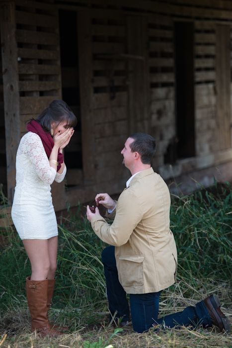 Adorable Marriage Proposal During A Photoshoot