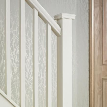 how to connect handrail to newel post
