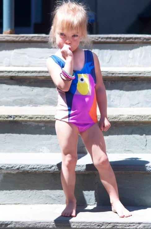 It's swimming season again and Stella McCartney has done it again! Kids clothing  http://www.devlishangelz.ca/