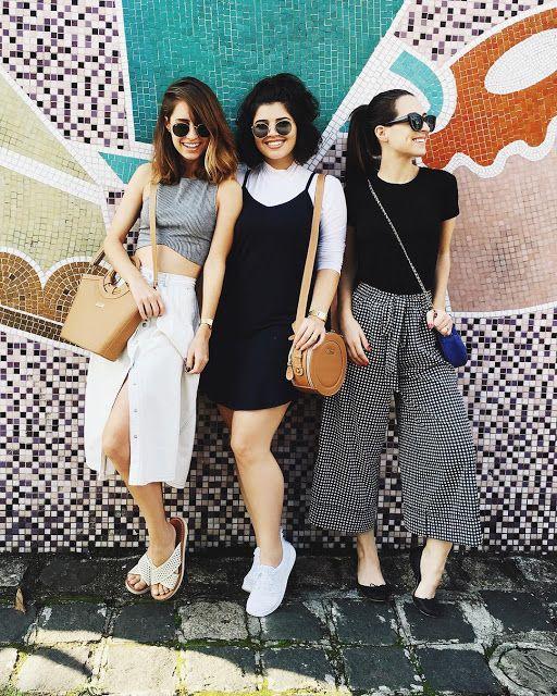 Três looks incríveis!