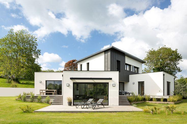 Construction Maison Sur Terrain En Pente Design D Architecte Demi Niveaux 5