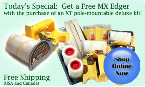Today's Special: Get a Free MX Edger with our Deluxe Kit
