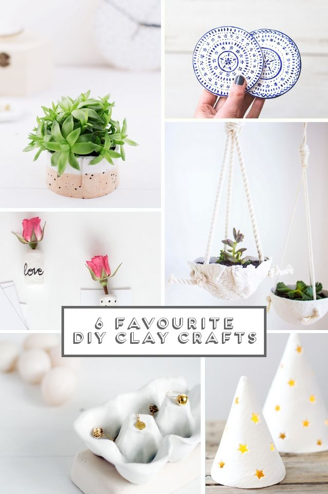 Best 25 air dry clay ideas on pinterest diy air dry clay air 6 diy clay projects from gathering beauty blog love solutioingenieria Gallery