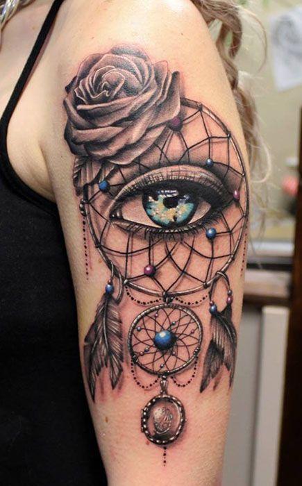 Best DreamCatcher Tattoos in the World, DreamCatcher Tattoos in the World…