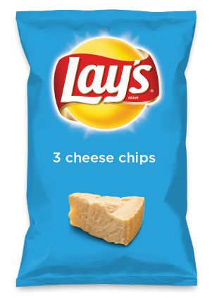 Wouldn't 3 cheese chips be yummy as a chip? Lay's Do Us A Flavor is back, and the search is on for the yummiest flavor idea. Create a flavor, choose a chip and you could win $1 million! https://www.dousaflavor.com See Rules.