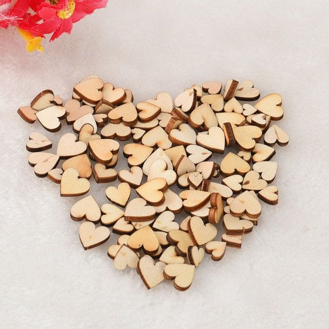 Assorted Plain Small Wooden Hearts 6mm 8mm 10mm 12mm Sold In Mixed Packs Of 50 100 250 500 1000 In 2020 With Images Decor Crafts Wooden Hearts Craft Accessories