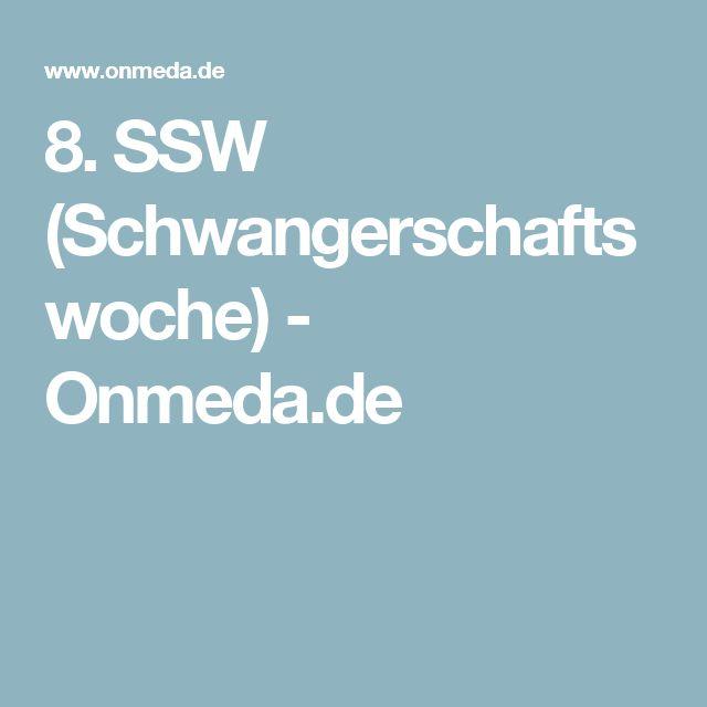 8. SSW (Schwangerschaftswoche) - Onmeda.de