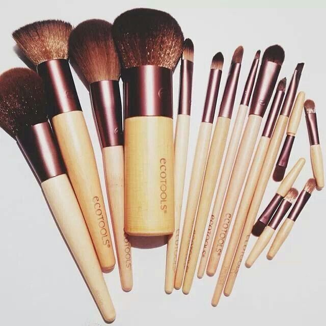EcoTools. Great, SUPER affordable makeup brushes. I like these better than many of my MAC brushes.