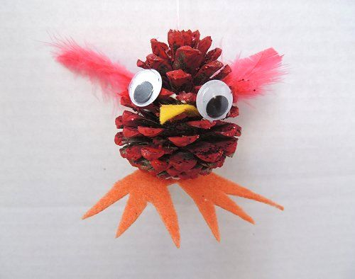 218 best bird education fun with kids images on pinterest for Pine cone art projects