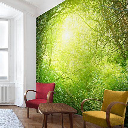 93 besten Fototapete Bilder auf Pinterest Fototapete, Wandbilder - fototapete wald schlafzimmer