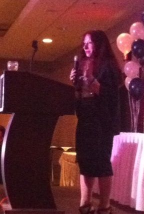 Paula's Victory. A success story of grit, tenacity, and perseverance. Triumph against the odds. Valedictorian speech.