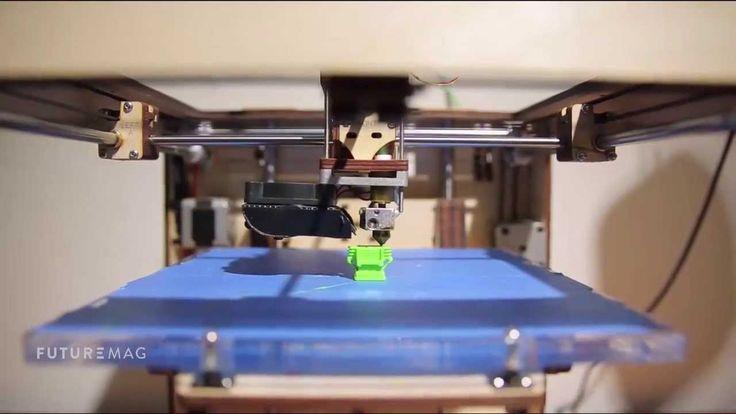 L'imprimante 3D pour tous - FUTUREMAG - ARTE