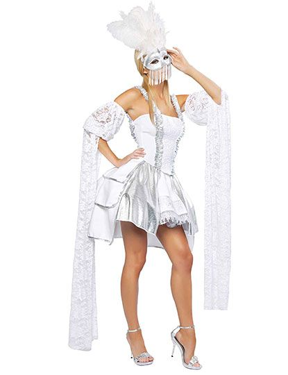 sexy masquerade costume even if id want it in vivid colors - Masquerade Costumes Halloween