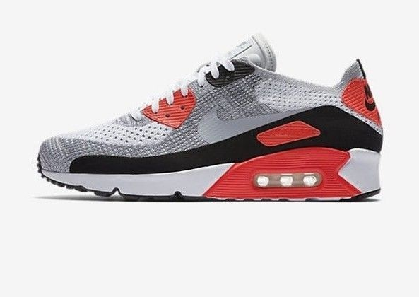 Nike Air Max 90 Ultra 2.0 Flyknit Size 10 US White Men's