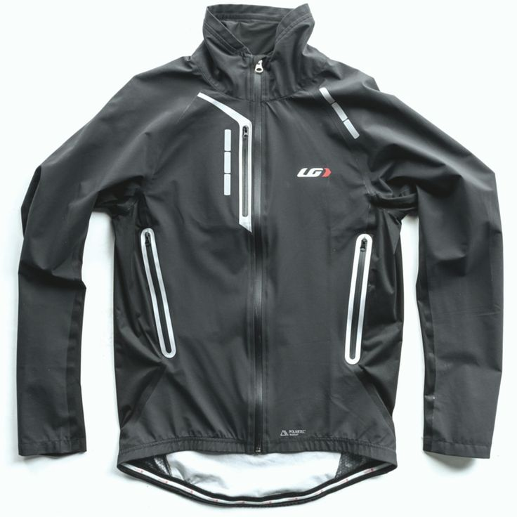Through partnership with Polartec®, Louis Garneau has created a completely waterproof jacket that acts as a hardshell yet has the ventilation, stretchability, and softness properties of a softshell. With completely waterproof features such as a full length reversed waterproof zip lined with an inner flap, sealed seams, velcro-adjustable wrists and a silicone gripper, this jacket is reliable in the wettest of conditions.