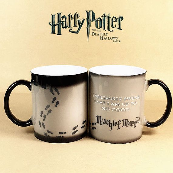 ON SALE 20% OFF Harry Potter Mugs Color by MagicMugFactory on Etsy