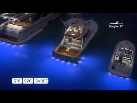 LED Boat Lights | Marine Underwater Lighting #boataccessories