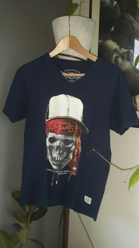 Tee-shirt jack and jones Bleu marine 14 ans