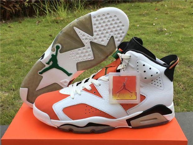 the best attitude 4bee5 cbdeb 2017 air jordan retro 6 shoe Gatorade Mens Basketball Shoes ...