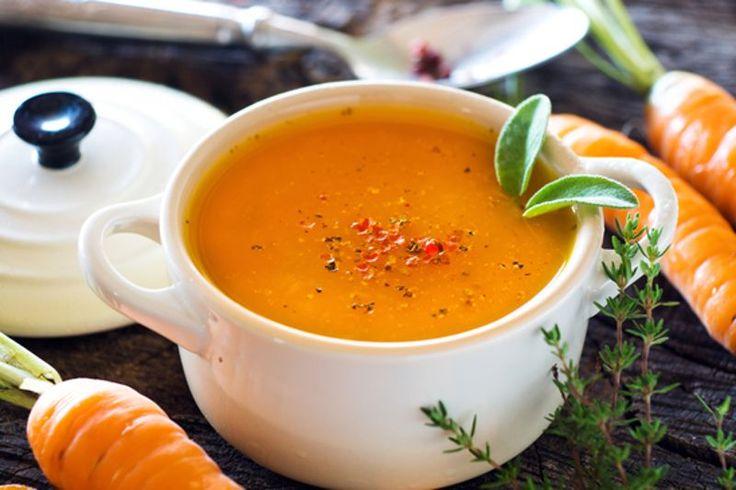 Un délicieux potage santé aux carottes qui est vraiment très simple à faire :)