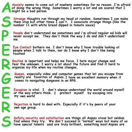 How to get Aspergers diagnosis? Could this be Aspergers?