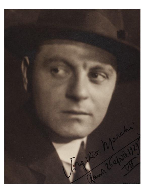 Virgilio Marchi (Livorno, January 1895 - Rome, was an Italian architect and  designer.