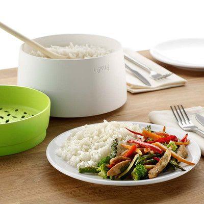 2. Sposób na ryż gotowany na parze. Wsyp do naczynia ryż, zalej wodą. Wstaw do kuchenki mikrofalowej na ok. 5 min. I delektuj się posiłkiem. Więcej znajdziesz na mykitchen.pl #kuchnia #homedecor #zdrowegotowanie