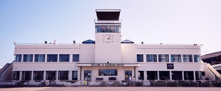Brighton City Airport, Shoreham, East Sussex, England. : AccidentalWesAnderson
