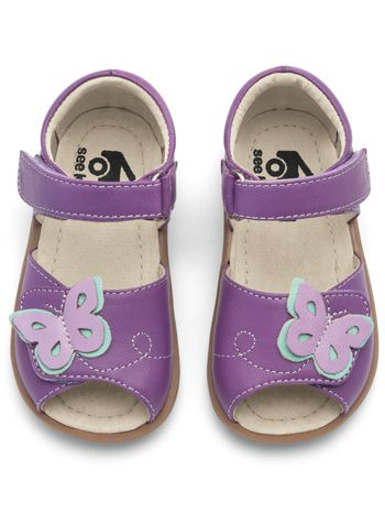See Kai Run Maryssa Purple available at www.tinysoles.com! #TinySoles