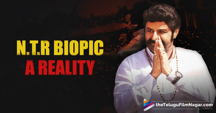 A year ago, Balakrishna announced he would be making a biopic about his father, the late N.T.Rama Rao. Balakrishna said he would be playing the role of his father N.T. Rama Rao, and began preparations for the project. Since it has been a year from th
