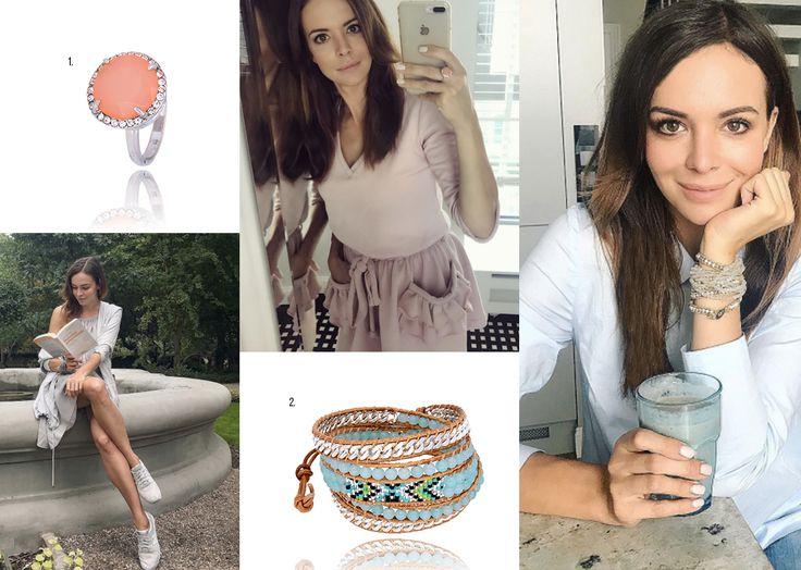 Inspirująca Ania Wendzikowska w By Dziubeka #bydziubeka #trendy #trends #fashion #star #celebrity #wendzikowska #cute #style #ootd #outfit #jewellery