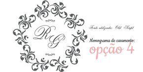 Disponibilizamos alguns monogramas gratuitos para o seu convite de casamento. É só baixar, editar e aplicar no seu envelope ou convite de casamento.... Download: Monogramas gratuitos para o seu convite de casamento