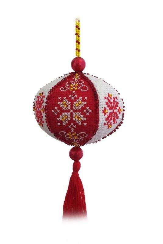 Набор для вышивания ZENGANA М-044 Подвеска Китайский фонарик