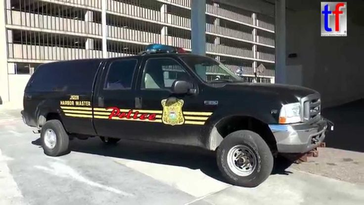 RARE CATCH** of Detroit Police Department Harbour Master Ford F ...