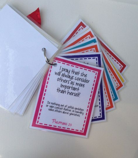 Sweet Blessings: Scripture Prayer Cards