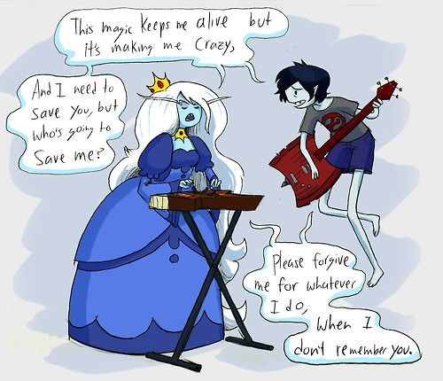 Ice Queen Adventure Time Marceline Sexy Porn - This is so sad bcuz simon doesn't remember Marcy. Same with the swap ice  queen doesn't remember marshal lee AHHHH MAKES ME SAD!