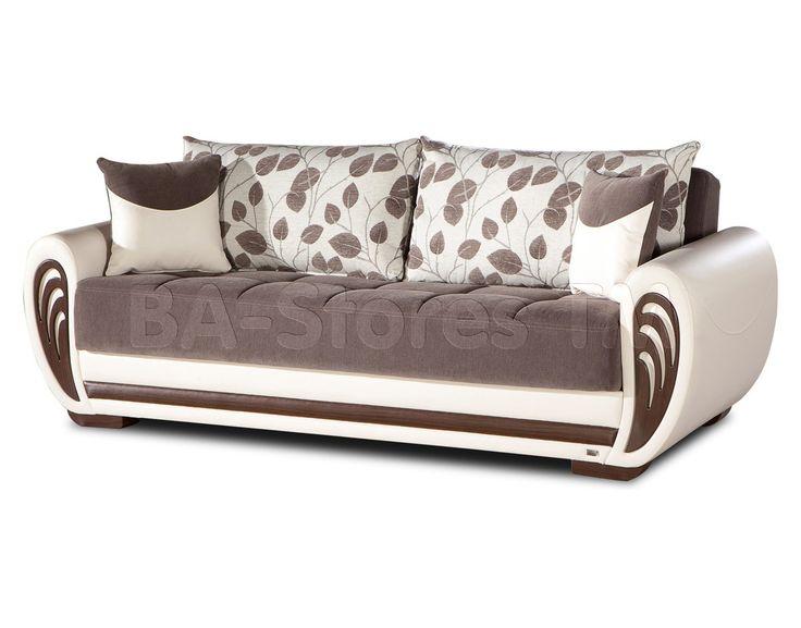 Marina Sofa Sleeper In Armoni Brown By Istikbal