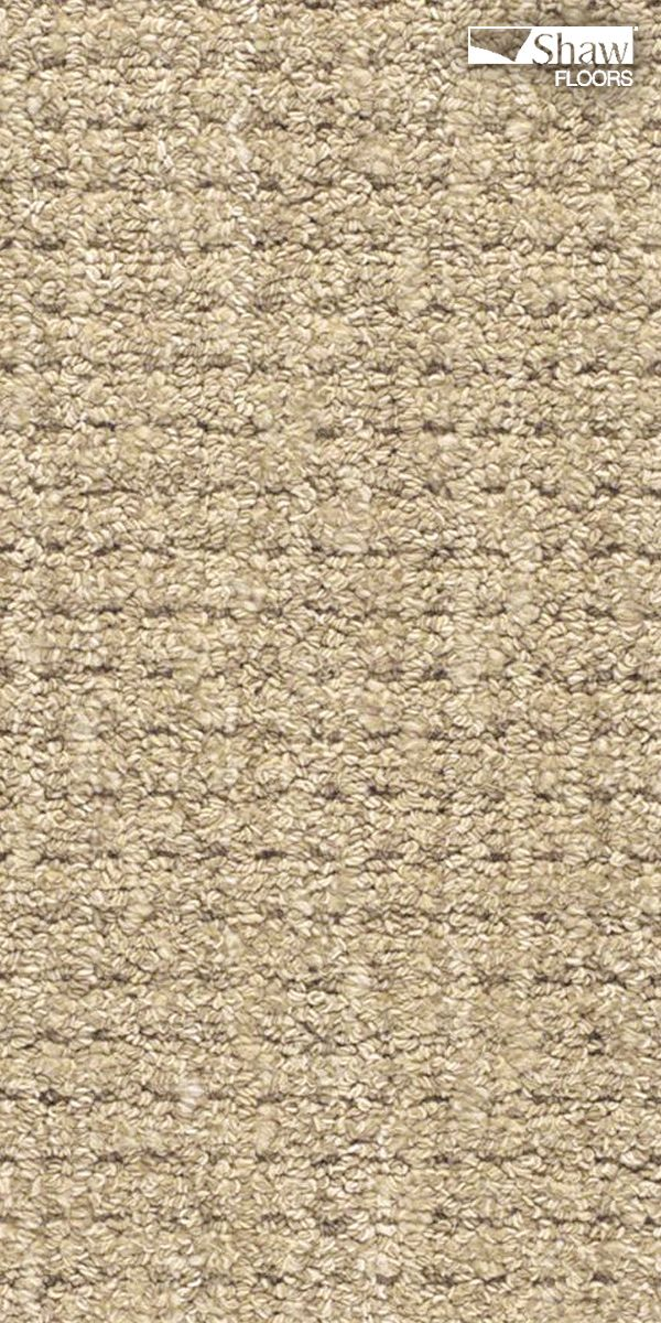 """Perfect kid-friendly carpeting is built for play, and comfort. Stain-resistant """"Natural Boucle"""" has the look, feel and durability to stay beautiful throughout all life's misadventures. Pictured in Sisal."""