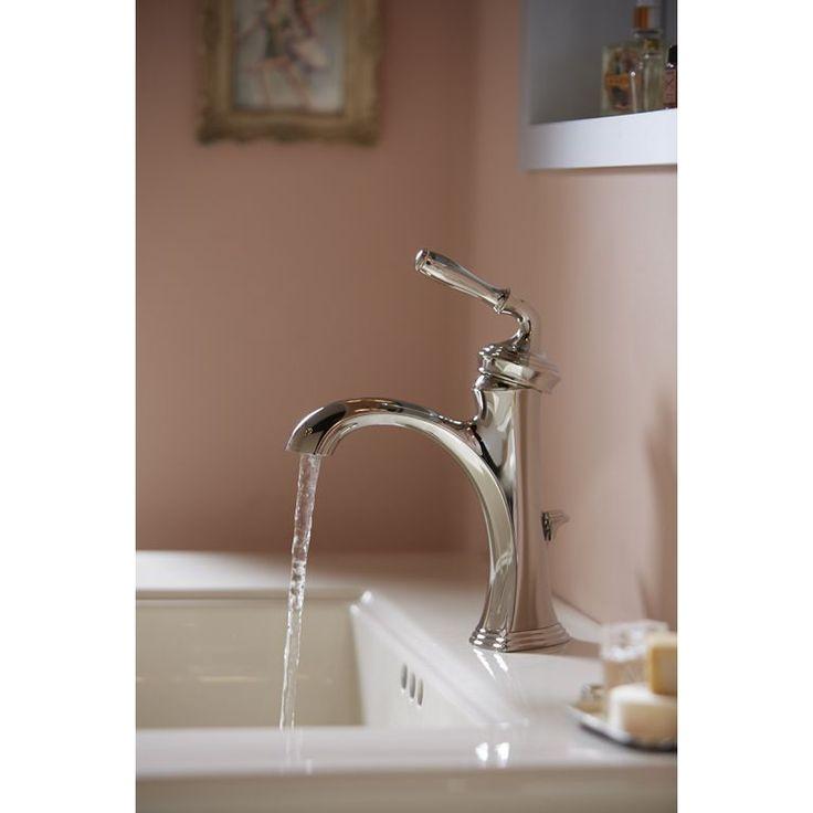 Kohler K-193-4-BN Devonshire Vibrant Brushed Nickel  One Handle Bathroom Faucets |eFaucets.com