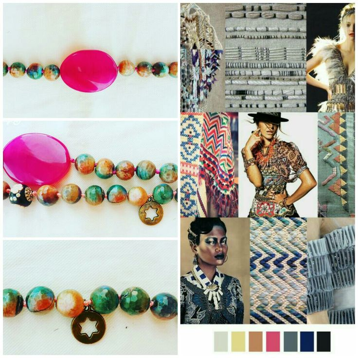 Indian Agatha color trends F/W 2017-18 necklaces #fragolà