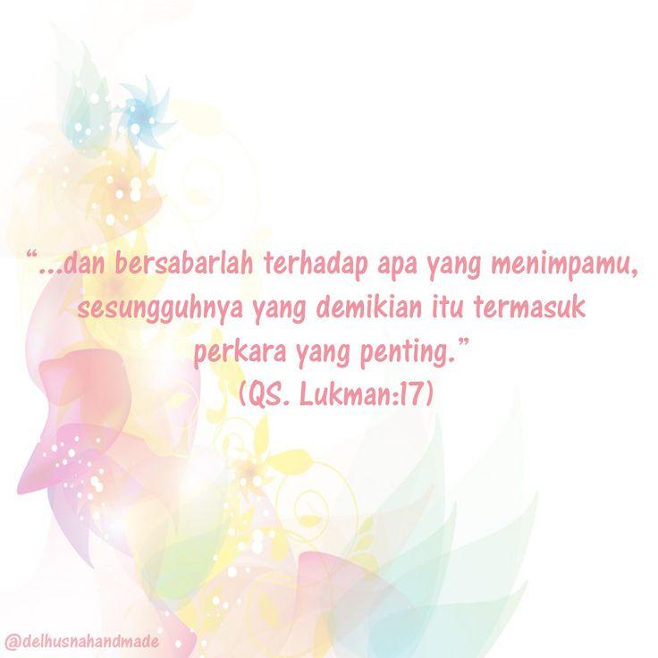 Al - Qur'an Surat Luqman ayat 17