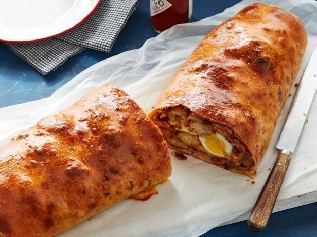 Get Breakfast Garbage Bread Recipe from Food Network