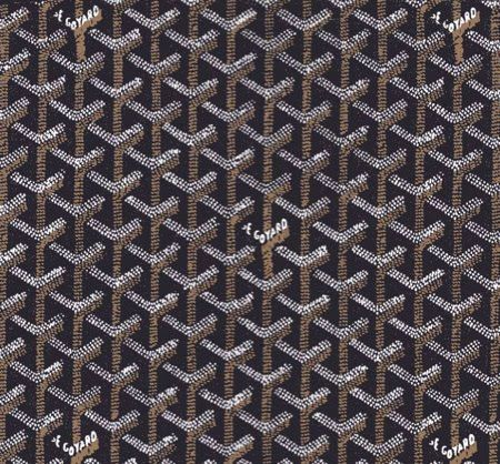 Love How Words Are Part Of The Pattern Goyard Textures